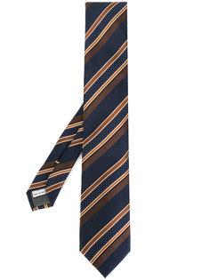 галстук в полоску Canali