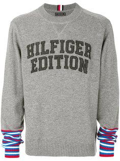 трикотажный свитер с логотипом Tommy Hilfiger