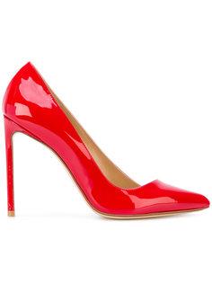 asymmetrical stiletto pumps Francesco Russo