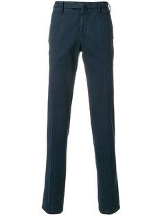 классические брюки прямого кроя Incotex