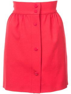 high waisted mini skirt  Red Valentino