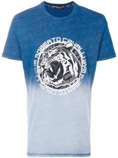 футболка с градиентным узором Roberto Cavalli