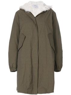 пальто-парка с меховой подкладкой  Forte Couture