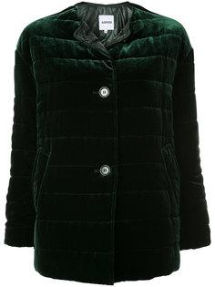 стеганое пальто на две пуговицы Aspesi