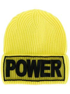 шапка с вышивкой Power Versace