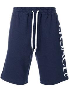 спортивные шорты с логотипом Versace