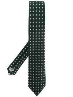 трикотажный галстук в горошек Canali