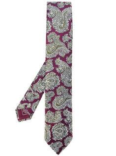 """галстук с принтом """"пейсли"""" Brioni"""
