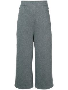 широкие брюки с завышенной талией Tibi