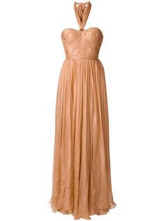 приталенное расклешенное платье  Maria Lucia Hohan
