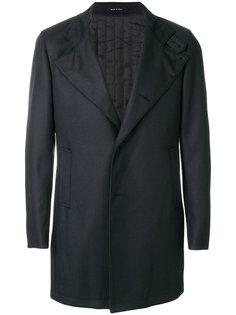 однобортное пальто Tagliatore