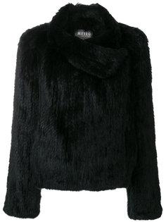 асимметричное пальто  Meteo By Yves Salomon