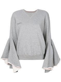 свитер с рукавами-колокол Facetasm