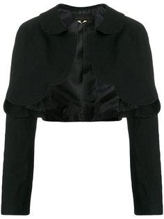 укороченный пиджак с фестонами  Comme Des Garçons Girl