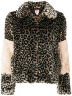 короткая куртка с леопардовым принтом  Shrimps
