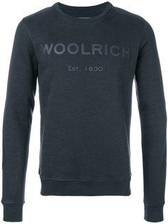 толстовка с логотипом Woolrich