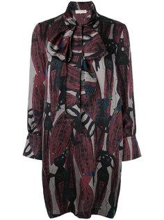 платье с завязками LAutre Chose