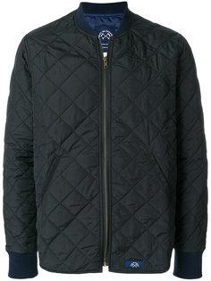 стеганая куртка-бомбер Bleu De Paname