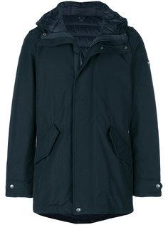 пальто в стиле милитари  Woolrich