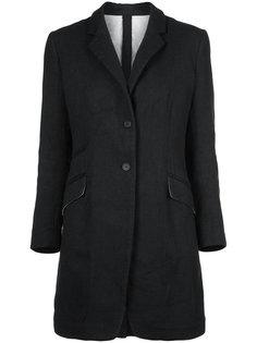 пальто с застежкой на две пуговицы  Forme Dexpression
