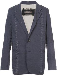 свободный пиджак с мятым эффектом Uma Wang