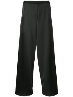 брюки асимметричного кроя Christopher Esber