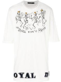 футболка с принтом Dance With The Prince Dolce & Gabbana