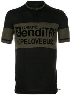 футболка с графическим принтом Fendi