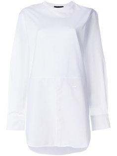удлиненная рубашка в стиле кэжуал Dsquared2