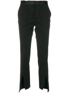 укороченные строгие брюки  Versace