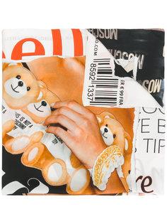 шарф Toy Bear Magazine Moschino