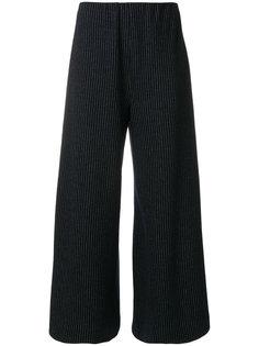 укороченные брюки в полоску  Harris Wharf London