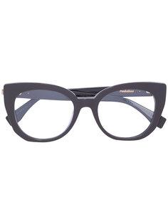 очки Peekaboo в оправе кошачий глаз Fendi Eyewear