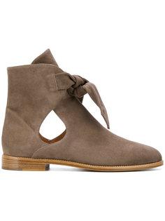 ботинки с вырезными деталями Unützer