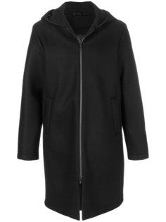 пальто на молнии с капюшоном Hevo