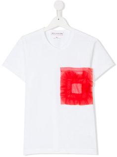 футболка с аппликацией  Comme Des Garçons Girl