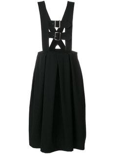 плиссированная юбка-сарафан  Comme Des Garçons Comme Des Garçons