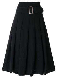 плиссированная юбка с пряжкой  Comme Des Garçons Comme Des Garçons