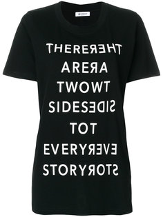 футболка с принтом  Dondup