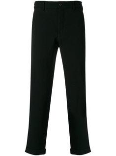 брюки с подвернутым подолом Comme Des Garçons Homme Plus