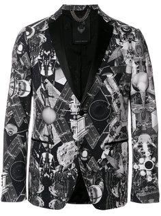 пиджак с абстрактным принтом Frankie Morello