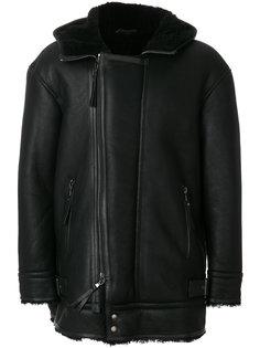 куртка с меховой подкладкой Diesel Black Gold