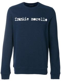 толстовка с принтом логотипа Frankie Morello