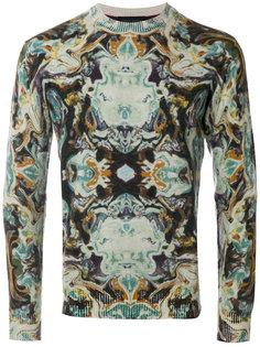 свитер с орнаментом Frankie Morello