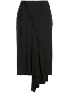 юбка со шнуровкой Yohji Yamamoto
