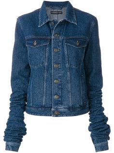 джинсовая куртка с экстра-длинными рукавами Y / Project