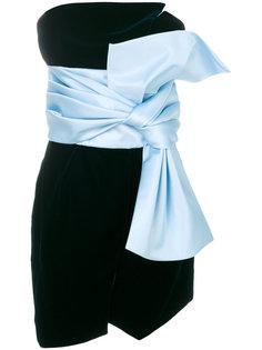 платье с большим бантом Alexandre Vauthier