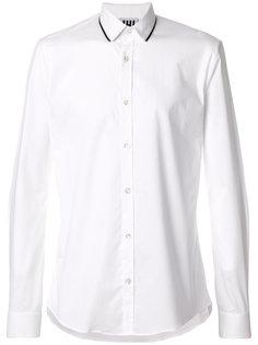 рубашка с контрастной окантовкой Les Hommes Urban