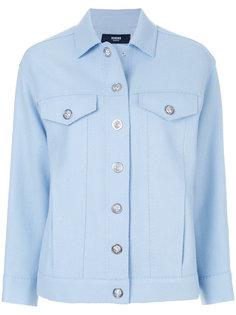 джинсовая куртка с логотипом Versus