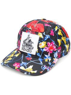 кепка с цветочным принтом Kenzo